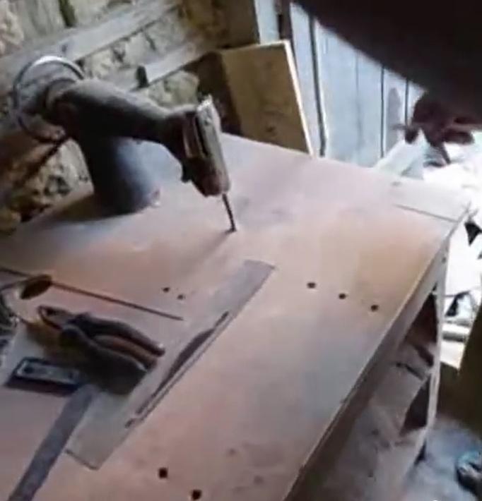 Станок из швейной машинки своими руками 9