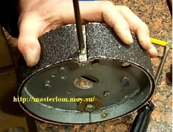 Изготовление наждачных кругов своими руками