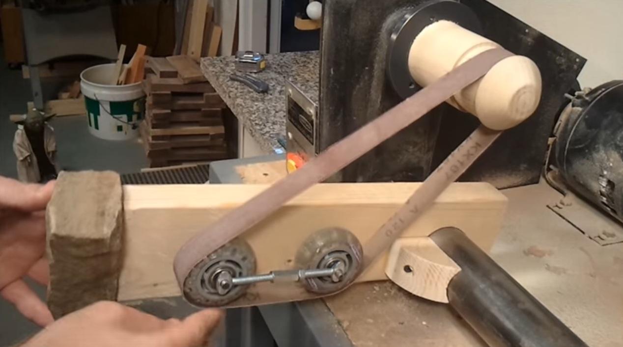 Как сделать ленточный станок своими руками 17