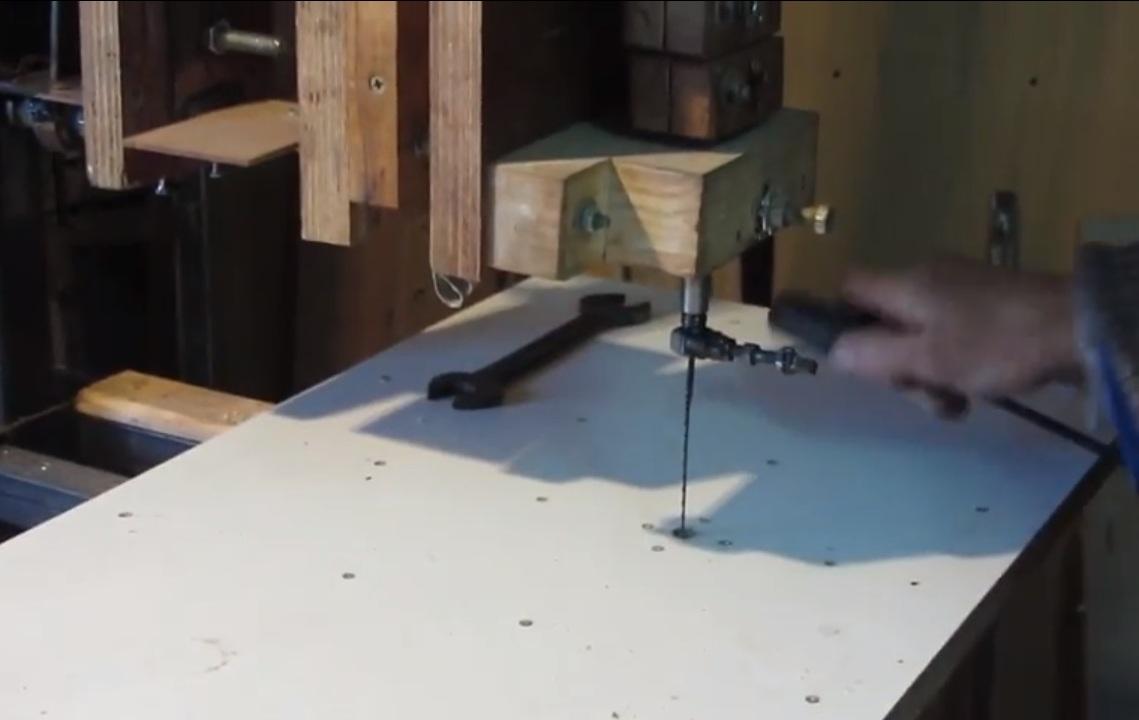 Станок из швейной машинки своими руками 35