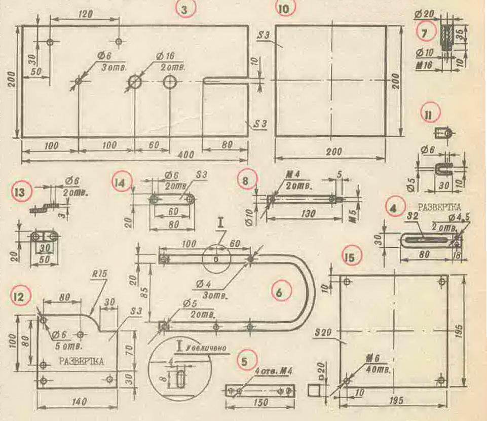 Самодельный лобзиковый станок чертеж